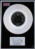 "JIM REEVES - 7"" Platinum Disc - I WON'T FORGET YOU"